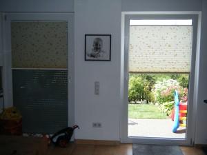 Plissee fürs Wohnzimmer